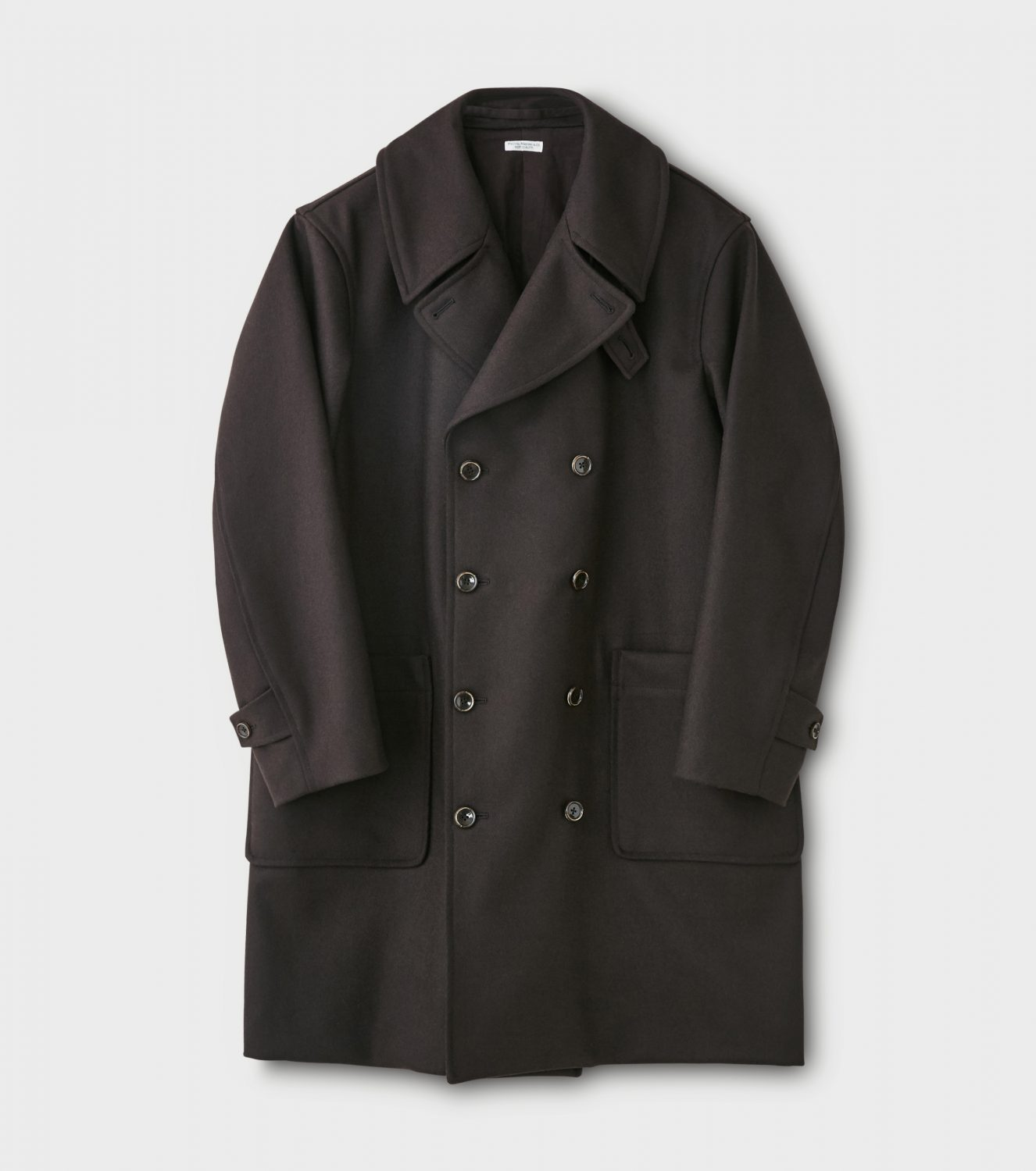 "Seasonal Products ""Melton Double-breasted Coat"""
