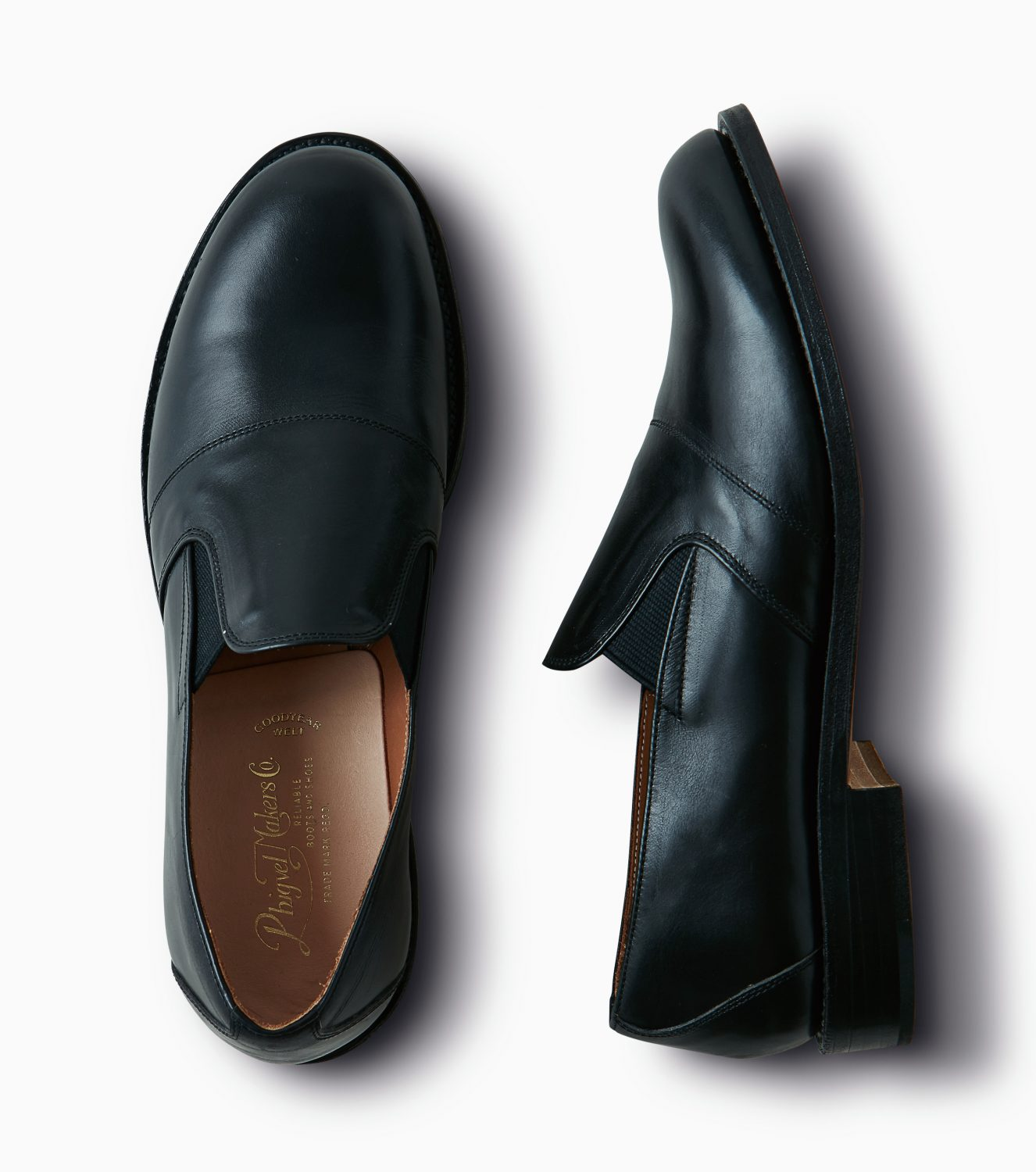 "Limited Product ""Leather Slip-on Shoes"""