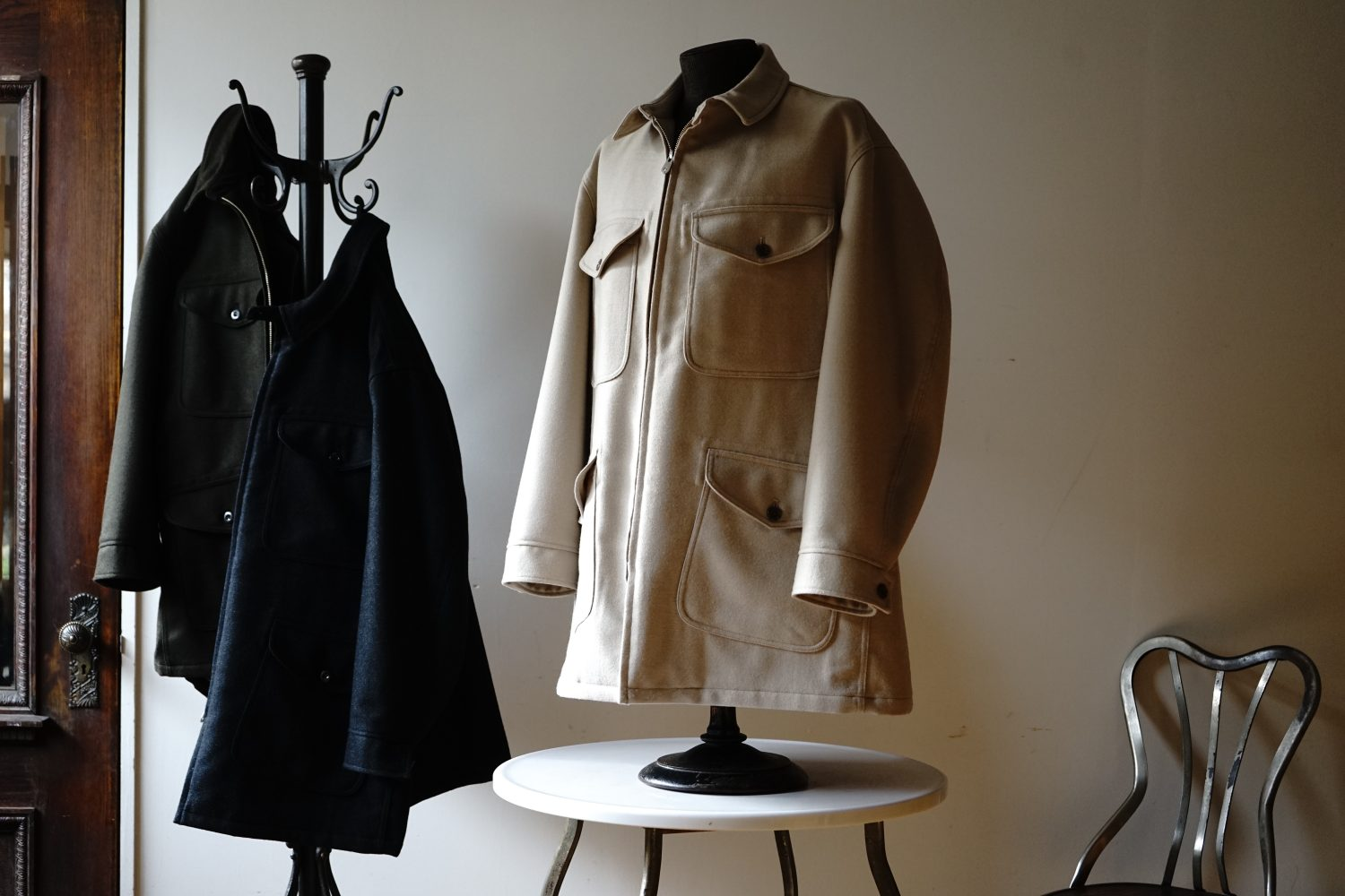 "Seasonal Product ""Wool Smock Coat"""