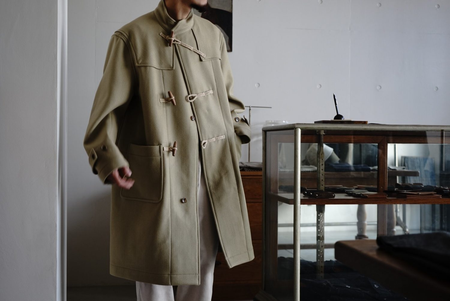 "Seasonal Product ""Naval Duffle Coat"""